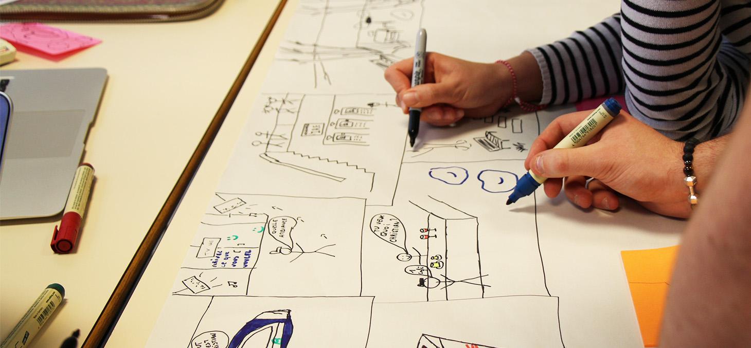 Atelier de créativité à Grenoble IAE, septembre 2017