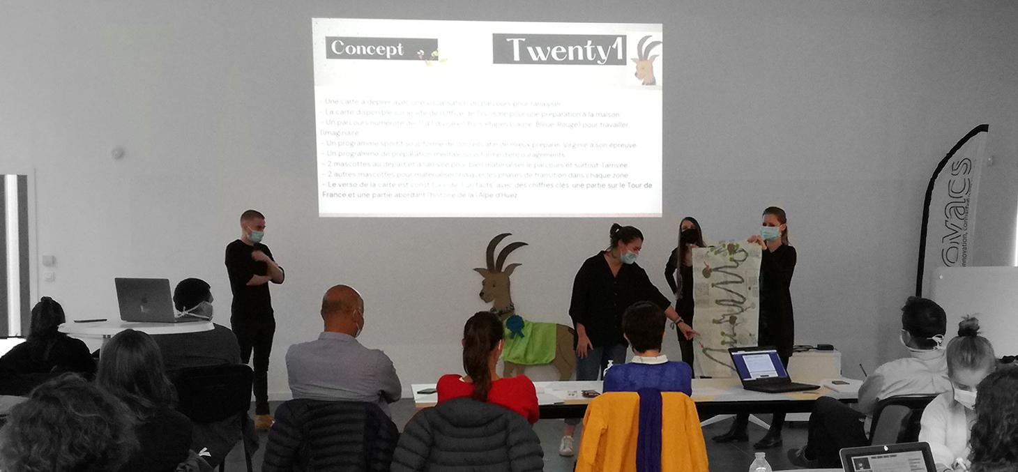 Atelier Design thinking 2020 pour les M2 Management de l'Innovation de Grenoble IAE