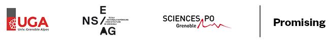 Logos composantes participantes UED 2019