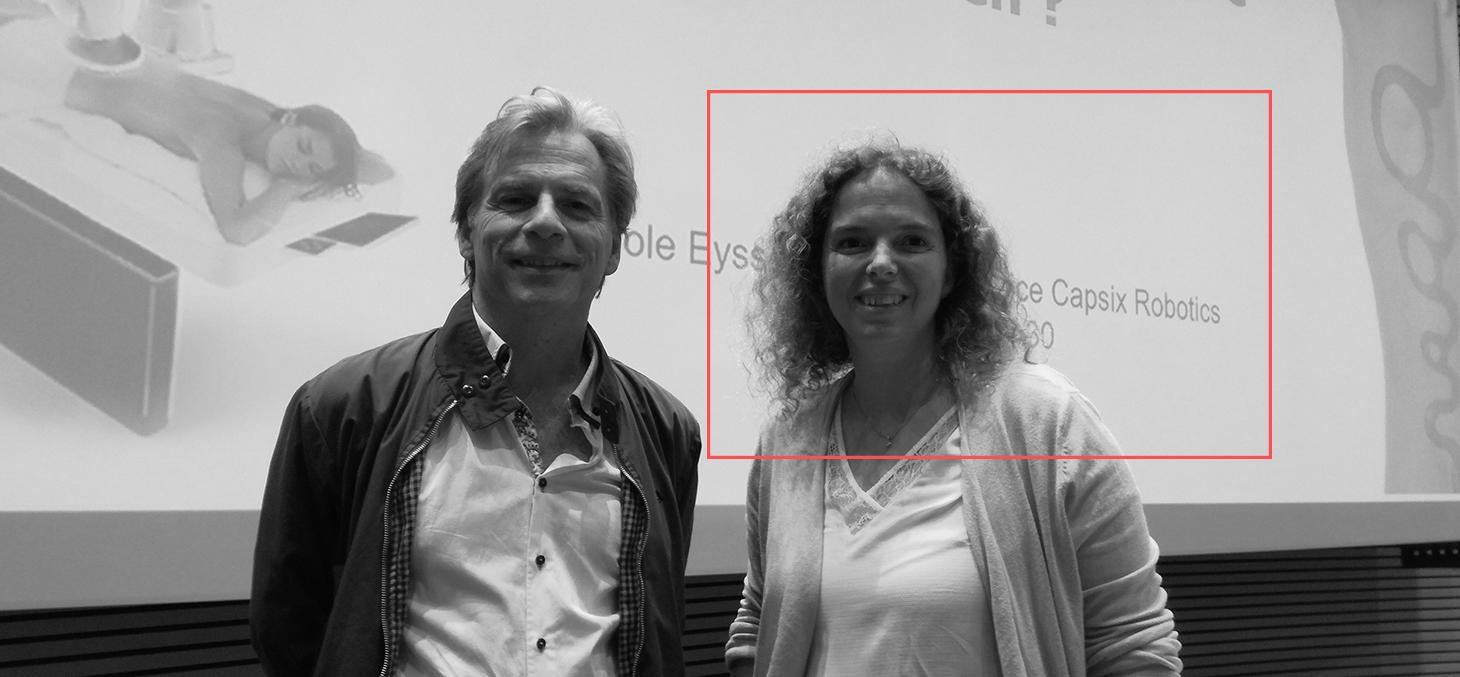 Thierry Ménissier et Carole Eyssautier, Capsix Robotics