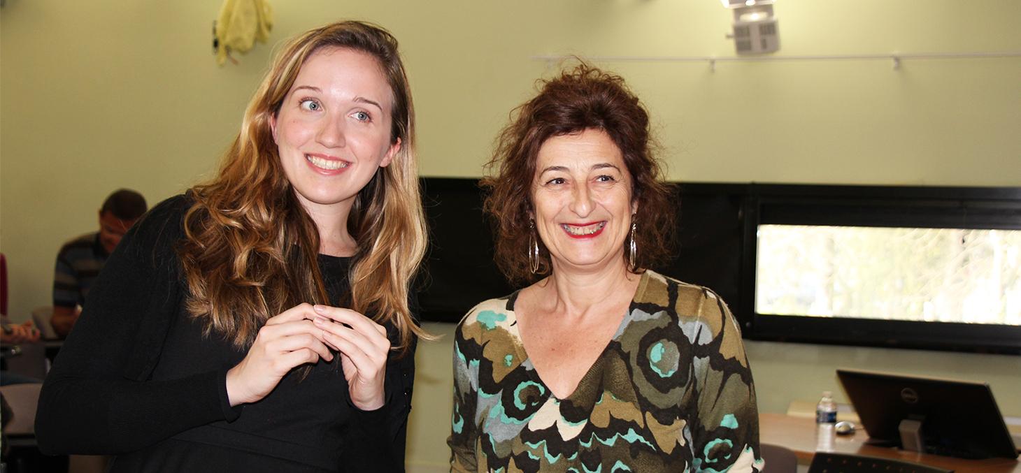 Caroline Goblet et Sylvie Caruso Cahn, SNCF Réseau