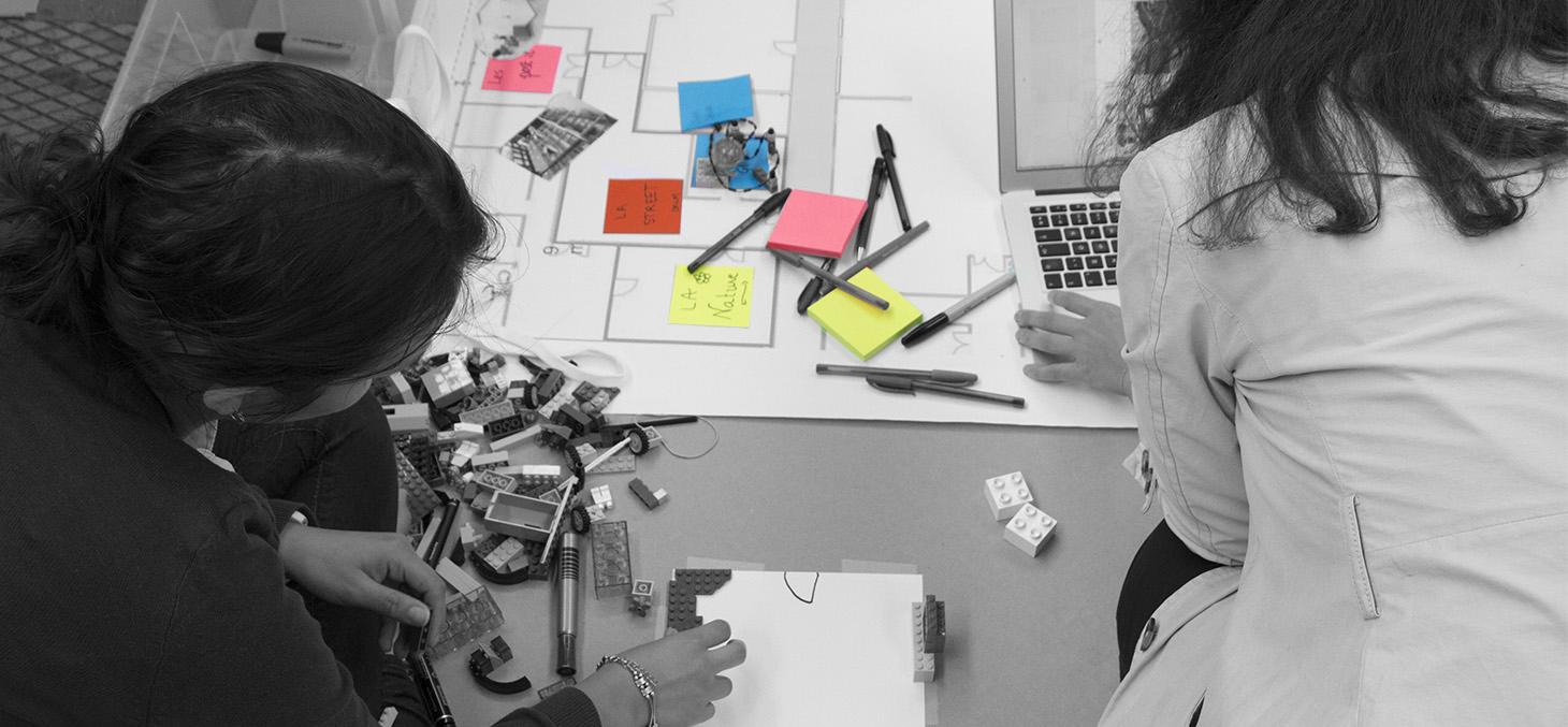 Co-design des espaces Promising, septembre 2016