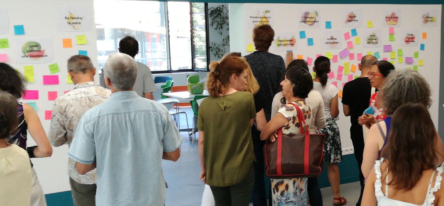 La communauté d'enseignants créatifs au séminaire de rentrée