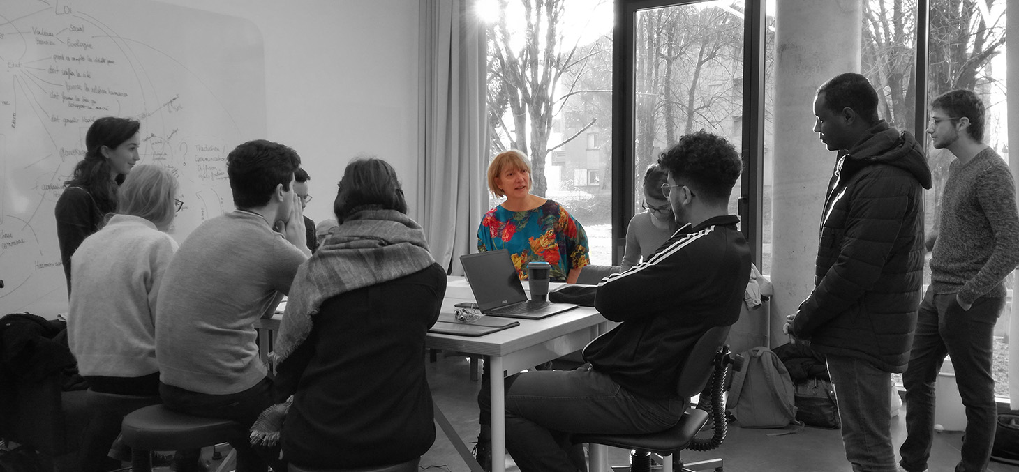 Les étudiants travaillent pour l'Agence d'Urbanisme de Grenoble