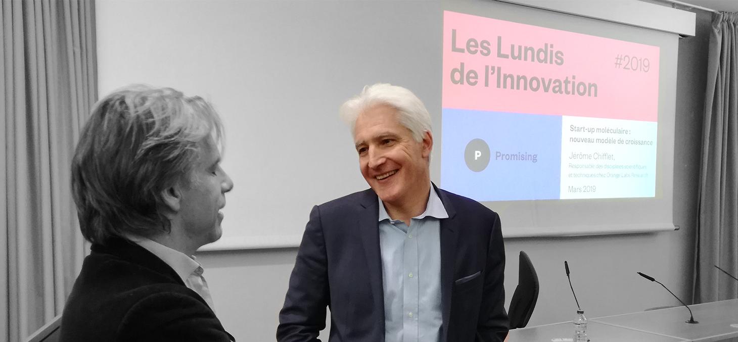 Jérôme Chifflet, responsable des disciplines scientifiques et techniques chez Orange