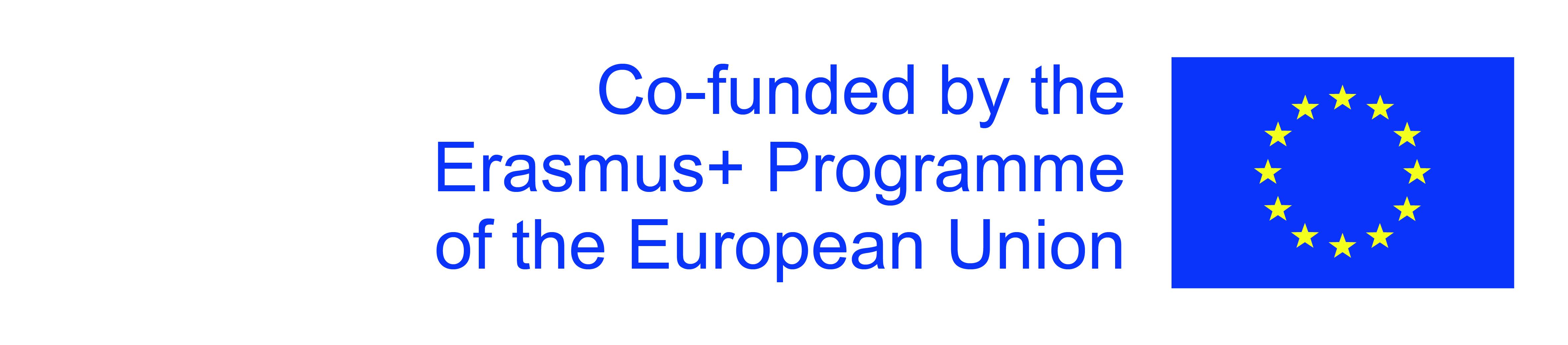 Logo Erasmus+ Europe