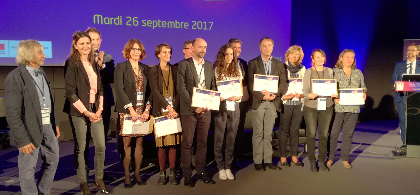 Remise des certificats d'excellence aux prix PEPS 2017