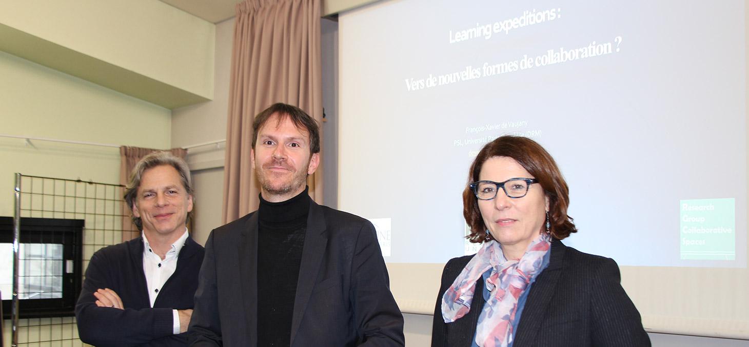 Thierry Ménissier, François-Xavier de Vaujany et Valérie Chanal