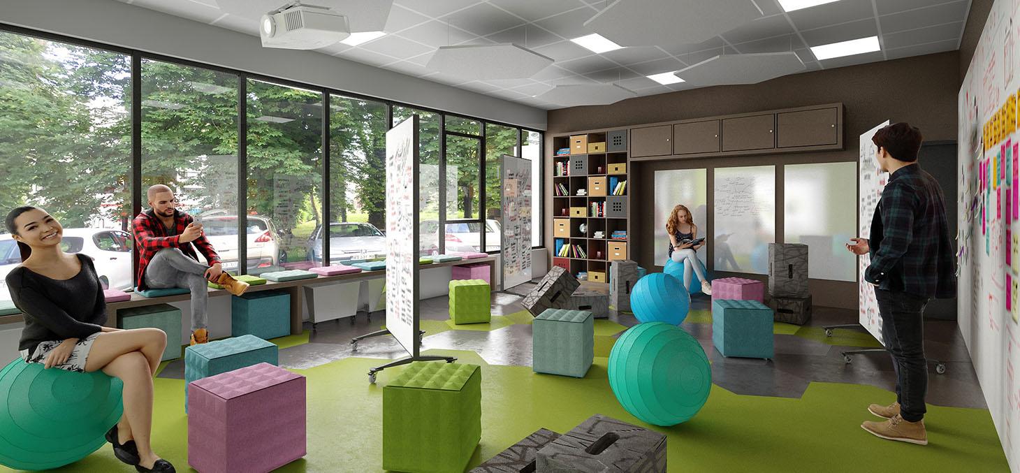 Salle de créativité - Promising