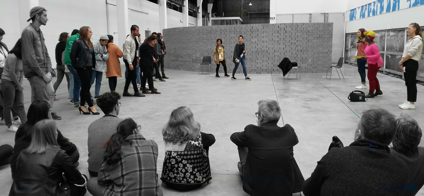 Université Ephémère Design et Transition(s) 2019 : restitution d'un groupe